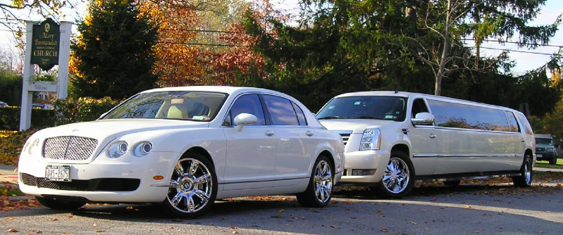 New Bentley & 20 Passenger Cadillac Escalade 1
