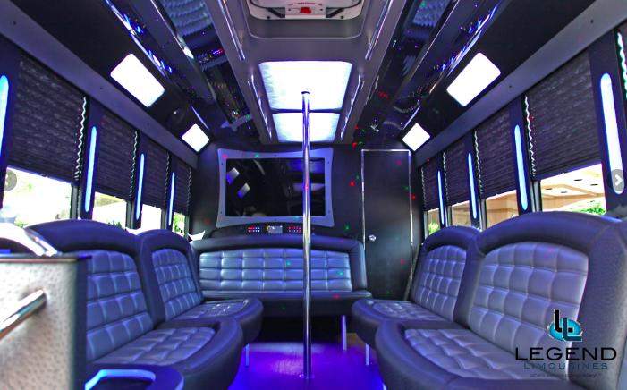 Custom Mack 18 Passenger Limo Bus
