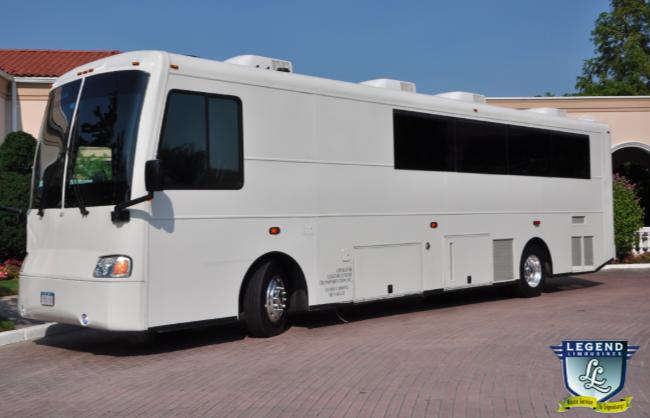 38 Passenger Limo Bus Rental