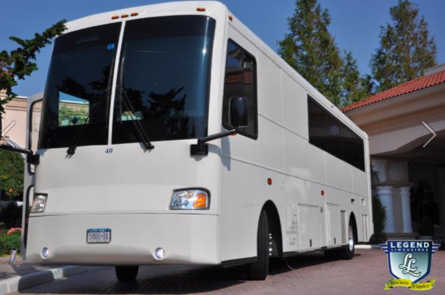 38 Passenger Limo Bus