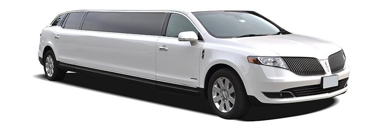 8 Passenger Lincoln White MKT